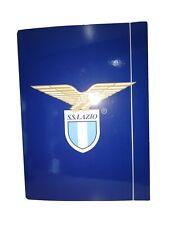 Cartellina cartella S.S.Lazio scuola ufficio portadocumenti blu