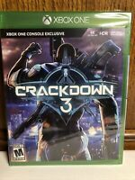 Crackdown 3 -- Standard Edition (Microsoft Xbox One, 2019) Factory Sealed