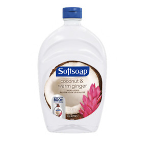 Softsoap Coconut and Warm Ginger Hand Soap Refill, 50 Fl. Oz.