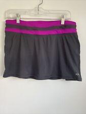 Champion MEDIUM Duo Dry Athletic Tennis Golf Skort Skirt Elastic Waist J18