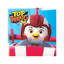 16 x Top Wing Party Paper Napkins Boys Birthday Swift Top Wing Party Supplies