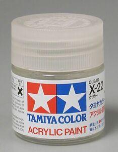 Tamiya 81022 Acrylic X22 Gloss,Clear