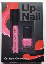 Royal Cosmetic Connections Lip & Nail Set Pink Gloss Polish