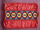 1395  Beautiful Vintage Hand Embroidered Pillow Case   18 14 46cm 35cm