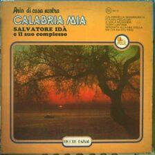 IDA' SALVATORE E IL SUO COMPLESSO CALABRIA MIA LP 1977