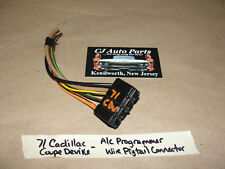Oem 71 Cadillac Deville Under Dash Ac Programmer Wire Harness Pigtail Connector