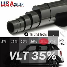 "Uncut Roll Window Tint Film 35% VLT 20"" In x 10' Ft Feet Car Home Office Glass"