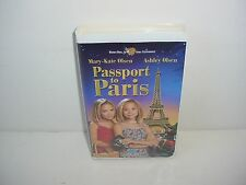 Mary Kate and Ashley Olsen Passport to Paris VHS Video Tape Movie Clamshell
