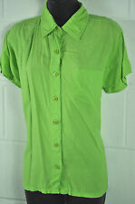 Unbranded Women's Semi Fitted Short Sleeve Sleeve Collared Tops & Shirts