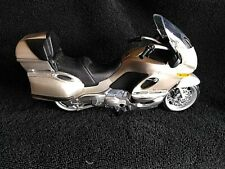 Creme/White BMW K1200T Motorcycle Plastic Model