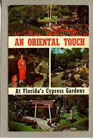Postcard FL St. Petersburg Cypress Gardens Oriental Touch Japanese c1976 -203
