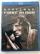First Blood New Blue Ray Disc Sylvester Stallone 1982