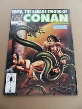Savage Sword of Conan 191 . John Buscema - Marvel 1991 - FN / VF