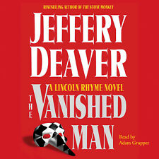 The Vanished Man (Jeffery Deaver) - Abridged Audiobook - 5 CDs - Trusted Seller