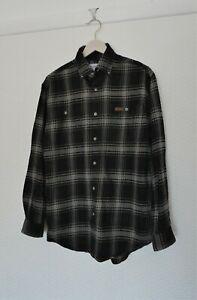 NEW Genuine Carhartt S199 Long Sleeve Cotton Flannel Shirt