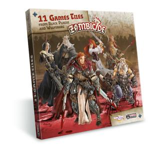 Zombicide Black Plague - Extra Tiles Pack Board Games CMON Miniatures NEW