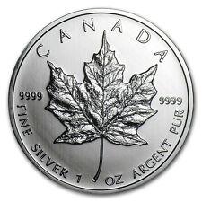 2011 Canada 1 oz Silver Maple Leaf BU - SKU #59158