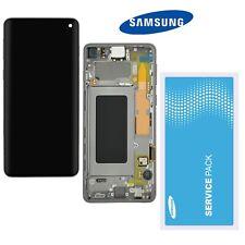 Samsung Galaxy S10 SM-G973F LCD Display Schwarz   ⫸  Original Service Ware  ⫷