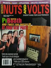 Nuts and Volts March 2016 Build the Pi Booth Tweet Fun Photos FREE SHIPPING sb