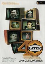 40 - Latek, Czterdziestolatek (DVD 6 disc) 1974 serial TV POLSKI POLISH