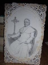 Autografo Biglietto Papa Pio IX - 24/9/1854