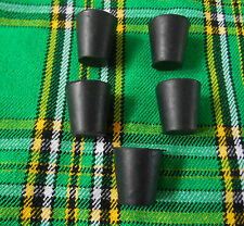 Bagpipe Stock Stoppers set/Scottish Bagpipe Stock Stopper Corck Rubber Set of 5
