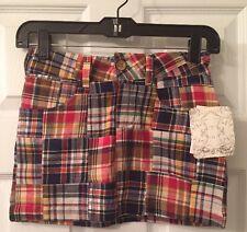 Fun & Flirt Plaid Mini Skirt Juniors Sz.10/12 NEW With Tag