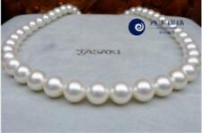 """HUGE 18""""12-13mm natural south sea genuine white round pearl necklace 527AAA"""
