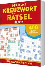 Der dicke Kreuzworträtsel-Block