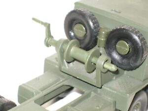 Solido, Crank And Winch Metal Painted Khaki For Berliet T12 Military