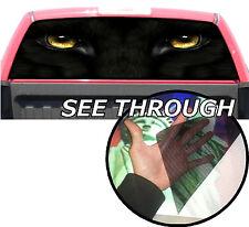 P202 Black Panther Rear Window Tint Graphic Decal F150 Ram silverado 1500