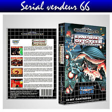 "BOX, CASE ""EMPIRE OF STEEL"". MEGADRIVE. BOX + COVER PRINTED.NO GAME.MULTILINGUAL"