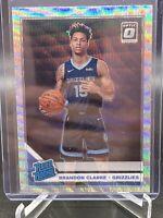 2019 Donruss Optic Brandon Clarke rookie silver wave Prizm Memphis Grizzlies