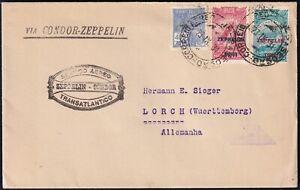 Zeppelin LZ 127 - 2th South America Flight 1931 - brasilianische Post