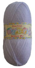 King Cole Big Value Baby 4ply Knitting Yarn 17 Lilac -100g ball