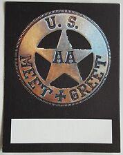 Adam Ant/ The Ants  US Tour meet and greet pass sticker