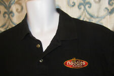 Noodles and Company Employee Work Shirt, Noodlewear, Mens XL S/S Polo Noodles