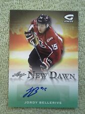 2015-16 Leaf Genesis JORDY BELLERIVE RC Rookie New Dawn Autograph #d/35