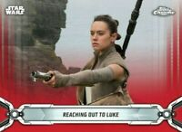 Topps Star Wars Card Trader Digital CHROME LEGACY RED Reaching Out To Luke 25cc