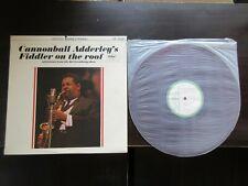 Cannonball Adderley 's Fiddler on The Roof Japan Promo Red Vinyl LP Nat Lloyd