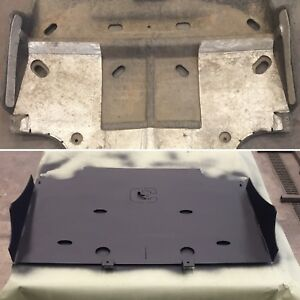 NEW 2015-2019 Ford F-150 2.7L Ecoboost STEEL Rear Skid Plate Lower (Rear) Plate