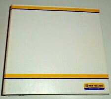 New Holland Dealers Ag 3 Ring Parts Service Shop Manual Catalog Book Binder 4