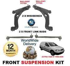 Per Vauxhall Astra Van 1998-2006 X2 anteriore Wishbone Bracci X2 Stabilizzatore barre di collegamento