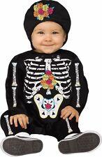 Baby Skeleton Costume 6-12M 12-24M 2T White Rainbow Infant Child Kids Boys Girls