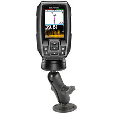 RAM Double Ball Mount with Hardware for Garmin Striker + More