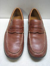 COLE HAAN MENS LEATHER PENNY LOAFERS SLIP-ON SHOES SIZE 11M