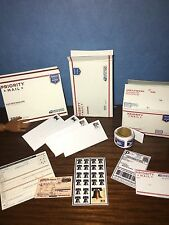 1:6 Scale Priority Mail Postal Supplies; For Barbie Diorama
