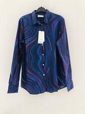 Designer PAUL SMITH Women Classic Signature 'SWIRL'  Shirt UK8/40 BNWT RRP £220