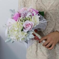 Gorgeous Wedding Bridal Bouquet Bridesmaid Hand Holder Flower Floral Decor