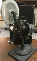Bell & Howell co. Fitmo 57 projector circa 1920s with case tested works 16mm